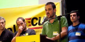 Lluc Salellas és regidor de l'Ajuntament de Girona i diputat a la Diputació