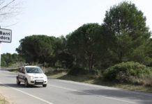Paratge dels Rodors, espai on s'han de construir els més de 700 habitatges segons Salvem Platja de Pals