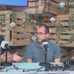Lluís Puig, alcalde de Palamós, en una entrevista a Ràdio Capital de l'Empordà
