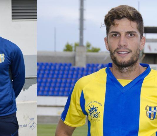 Marc Medina i David Cano / PALAMÓS CF I SERGI CORTÉS