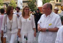 Elsa Artadi i Joan Loureiro a la Fira d'Indians de Begur | Imatge de l'Ajuntament de Begur