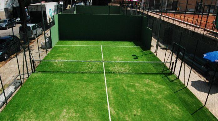 Pista de Paddle   Imatge del Club Tennis Guíxols