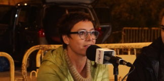 Montse Bassa durant l'entrevista a Ràdio Capital des de la presó Puig de les Basses