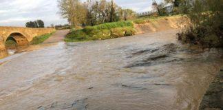 Imatge d'arxiu de l'estat de les inundacions després de les pluges