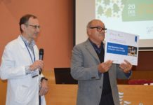 Presentació de Xavi Hernández com a nou ambaixador solidari de l'Hospital de Palamós   Imatge del SSIBE