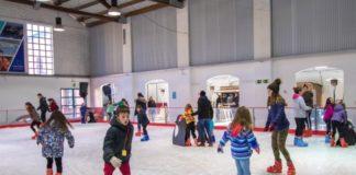 Pista de gel de Palafrugell | Imatge de l'Ajuntament