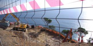Zona de construcció a Puntabrava a Sant Feliu de Guíxols | Imatge de Guíxols des del Carrer-Entesa