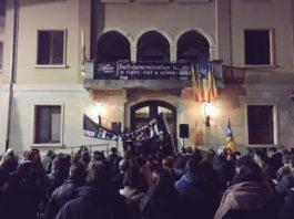 Manifestació a la Bisbal d'Empordà per l'inici del judici del Procés   Imatge d'Òmnium Cultural