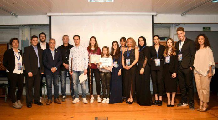Moment de l'entrega dels Premis a les Escoles Verdes a Palafrugell   Imatge de Paco Dalmau