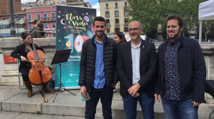 Presentació del Flors i Violes 2019 a Girona   Imatge de l'Ajuntament de Palafrugell