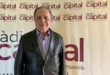 Joan Giraut, líder de Junts per Catalunya a Castell-Platja d'Aro