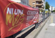 Pancarta CUP Palamós