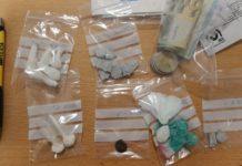 Drogues trobades en un camell en un control policial a Castell-Platja d'Aro | Imatge de la Policia Local
