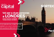 Guanya els vols d'anar i tornar a Londres per a dues persones gràcies a Plan B i Ràdio Capital