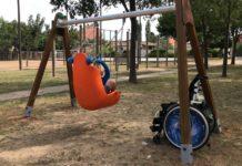 Gronxador de mobilitat reduïda a la Bisbal d'Empordà | Imatge de l'Ajuntament