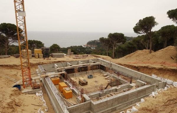 Zona de construcció de Montcal 2 a Aiguablava al municipi de Begur   Imatge de SOS Aiguafreda