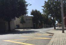 privat:-es-repinta-i-senyalitza-l'avinguda-pompeu-fabra-per-millorar-ne-la-seguretat-i-la-mobilitat