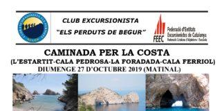 privat:-la-sortida-d'aquest-cap-de-setmana-del-club-excursionista-els-perduts-de-begur-es-trasllada-a-la-costa