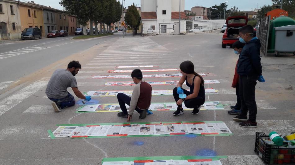 Intervencions artístiques a la Bisbal d'Empordà | Imatge de l'Ajuntament