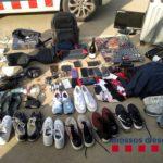 Objectes requisats després de les detencions per part dels Mossos d'Esquadra   Imatge dels Mossos d'Esquadra