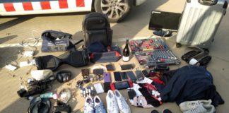 Objectes requisats després de les detencions per part dels Mossos d'Esquadra | Imatge dels Mossos d'Esquadra