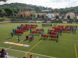 privat:-la-fundacio-esportiva-begur-presenta-els-seus-equips-de-futbol-davant-l'aficio